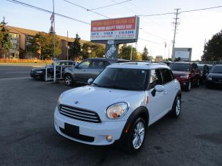 Used 2012 MINI Cooper Countryman luxury,sunroof,leather very clean car!!!!!!! for sale in Scarborough, ON
