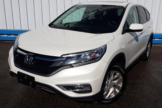 Used 2016 Honda CR-V EX-L *LEATHER-SUNROOF* for sale in Kitchener, ON