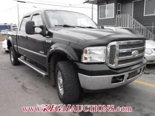 Used 2005 Ford F350SD LARIAT CREW CAB 4WD for sale in Calgary, AB