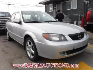 Used 2002 Mazda PROTEGE  4D SEDAN for sale in Calgary, AB