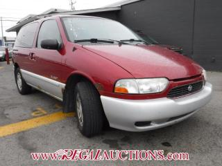 Used 2000 Nissan QUEST  WAGON for sale in Calgary, AB
