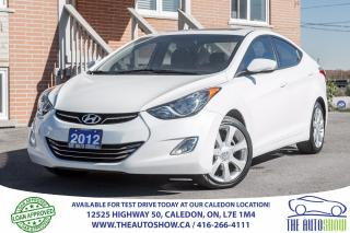 Used 2012 Hyundai Elantra Limited | Navi | SUNROOF | LEATHER | CAM | SERVICE for sale in Caledon, ON