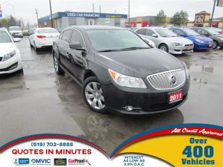 Used 2011 Buick LaCrosse CXL AWD for sale in London, ON