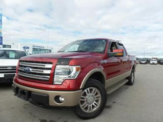Used 2013 Ford F-150 *CPO* KING RANCH 5.0L V8 1.9% APR for sale in Midland, ON