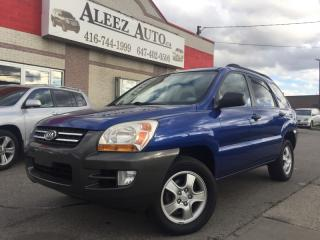 Used 2007 Kia Sportage Certified and E-tested for sale in North York, ON