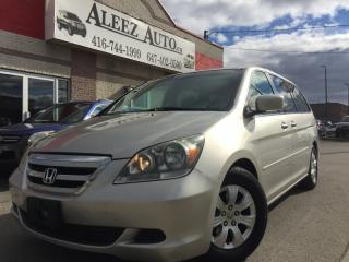 Used 2007 Honda Odyssey EX , Certified and E-tested for sale in North York, ON