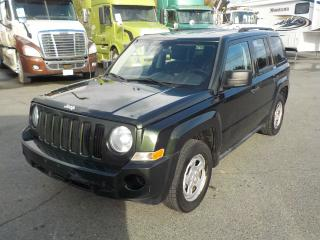 Used 2010 Jeep Patriot Sport 4WD for sale in Burnaby, BC