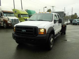Used 2006 Ford F-450 SD Crew Cab 2WD Dually Diesel Dump for sale in Burnaby, BC