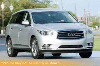 Used 2015 Infiniti QX60 7 Pass, Backup Cam, Heated Lea for sale in Winnipeg, MB
