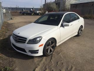 Used 2014 Mercedes-Benz C-Class C350 4MATIC, Nav, Backup Cam, for sale in Winnipeg, MB