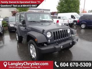 New 2017 Jeep Wrangler SPORT for sale in Surrey, BC