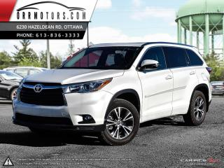Used 2016 Toyota Highlander XLE AWD V6 for sale in Stittsville, ON
