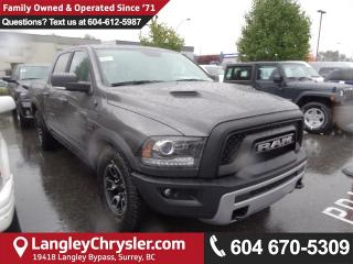 New 2018 Dodge Ram 1500 Rebel Off Road Truck Package for sale in Surrey, BC