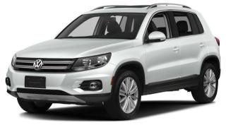 New 2017 Volkswagen Tiguan COMFORTLINE for sale in Surrey, BC
