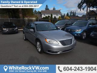 Used 2014 Chrysler 200 LX Remote Keyless Entry, A/C & Cruise Control for sale in Surrey, BC