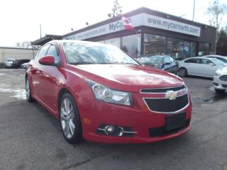 Used 2013 Chevrolet Cruze LT Turbo for sale in North Bay, ON