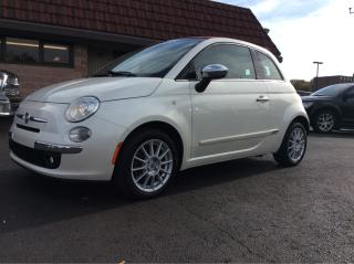 Used 2013 Fiat 500 Lounge for sale in Cobourg, ON