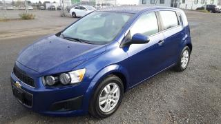 Used 2013 Chevrolet Sonic LT for sale in Thunder Bay, ON