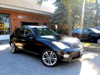 Used 2011 Infiniti EX35 AWD,NAVI,BRAND NEW TIRES,ONE OWNER,CERT for sale in Concord, ON