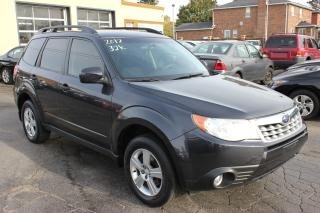 Used 2012 Subaru Forester X Convenience for sale in Brampton, ON