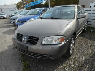 Used 2005 Nissan Sentra for sale in Brantford, ON