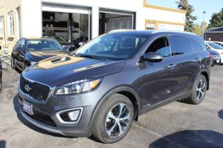 Used 2017 Kia Sorento EX+ V6 7 Passenger Loaded for sale in Brampton, ON