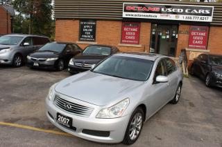 Used 2007 Infiniti G35X Luxury for sale in Scarborough, ON