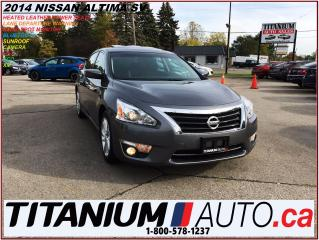 Used 2014 Nissan Altima SV+GPS+Camera+Blind Spot & Lane Departure+Sunroof+ for sale in London, ON