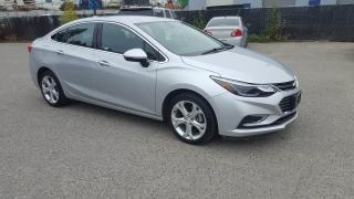Used 2017 Chevrolet Cruze Premier for sale in West Kelowna, BC