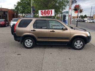 Used 2004 Honda CR-V AUTO,AWD,SAFETY+3YEARS WARRANTY INCLUDED for sale in North York, ON
