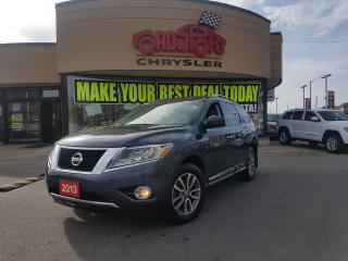 Used 2013 Nissan Pathfinder SL 7 PASS LEATHER TOW PACKAGE REAR CAM H-TED SEATS for sale in Scarborough, ON