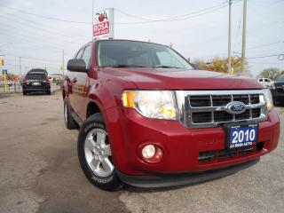 Used 2010 Ford Escape AUTO AWD LEATHER SUNROOF 1 OWNER NO ACCIDENT for sale in Oakville, ON