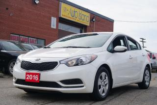 Used 2016 Kia Forte LX, Low KMs for sale in North York, ON