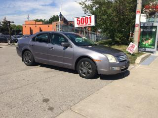 Used 2006 Ford Fusion SEL,LEATHER,NO ACCIDENT,SAFET+3YEARS WARANTY INCLD for sale in North York, ON