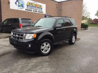 Used 2009 Ford Escape XLT - 3.0L V6 - 4WD - POWER SUNROOF - POWER SEAT for sale in Aurora, ON