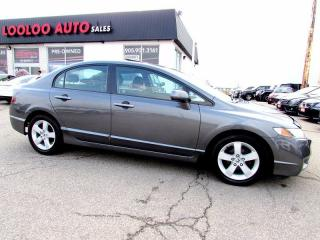 Used 2010 Honda Civic Sport Sunroof Auto Certified 2YR Warranty for sale in Milton, ON