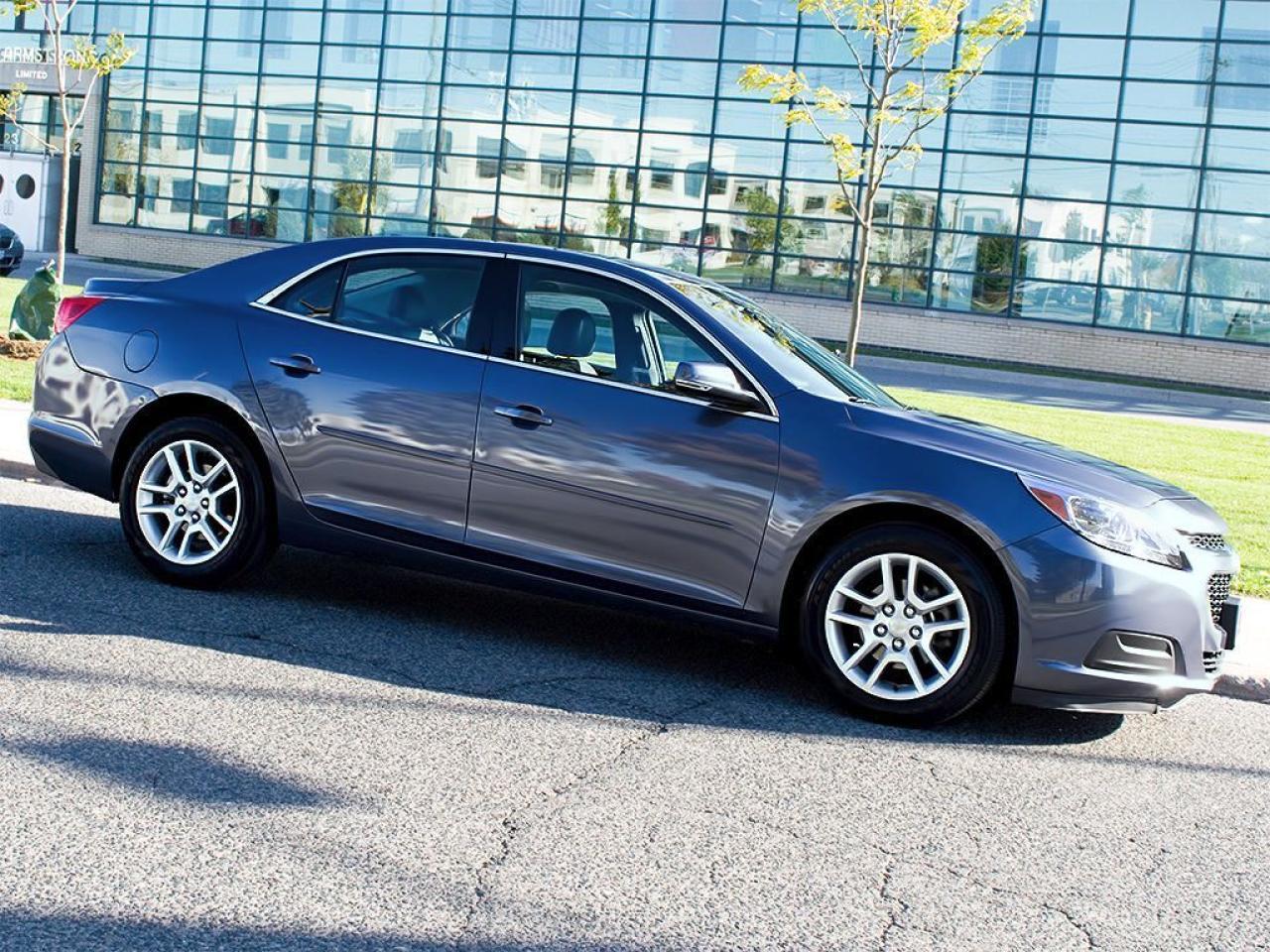 Photo of Steel Blue Metallic 2014 Chevrolet Malibu
