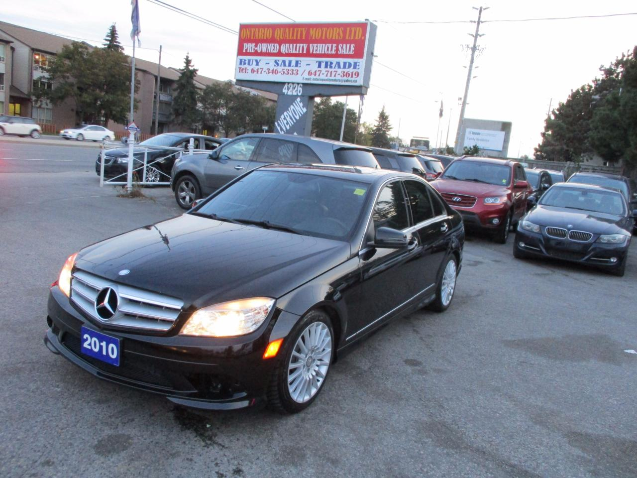 Used 2010 mercedes benz c250 c 250 leather sunroof for for 2010 mercedes benz c250