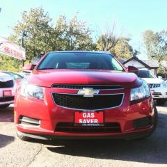 Used 2014 Chevrolet Cruze 2LT LEATHER/BACKUP CAMERA/NO ACCIDENT for sale in Brampton, ON