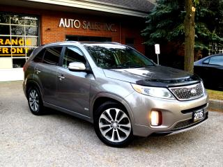 Used 2015 Kia Sorento SX,PANORAMIC,NAVI,LOADED,CERTIFIED for sale in Concord, ON