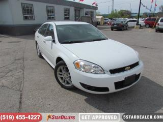 Used 2012 Chevrolet Impala LTZ | LEATHER | WELL MAINTAINED for sale in London, ON