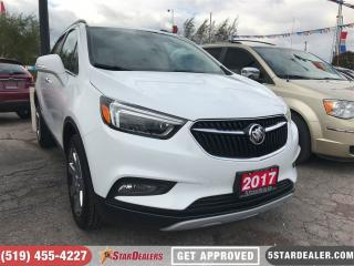 Used 2017 Buick Encore Essence | LEATHER | NAV | ROOF | AWD for sale in London, ON
