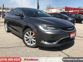 Used 2015 Chrysler 200 C **LOADED** for sale in London, ON