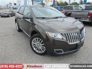 Used 2011 Lincoln MKX Limited | AWD | NAV | PANO ROOF | LEATHER for sale in London, ON