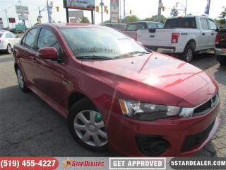 Used 2017 Mitsubishi Lancer ES | ONE OWNER | CAM | HEATED SEATS for sale in London, ON