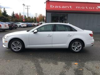 Used 2017 Audi A4 Heated Seats, Sunroof, Fuel Efficient!! for sale in Surrey, BC