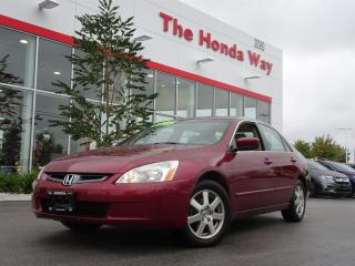 Used 2005 Honda Accord EX V-6 Sedan AT with Navigatio for sale in Abbotsford, BC