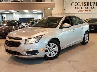 Used 2015 Chevrolet Cruze LT-AUTO-REAR CAM-BLUETOOTH-ONLY 29KM for sale in York, ON