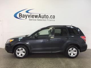 Used 2014 Subaru Forester - AWD|2.5L|ALLOYS|HTD SEATS|A/C|CRUISE! for sale in Belleville, ON