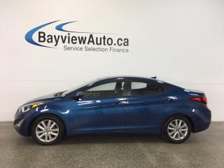Used 2016 Hyundai Elantra SPORT- ALLOYS|ROOF|HTD STS|REV CAM|BLUETOOTH! for sale in Belleville, ON